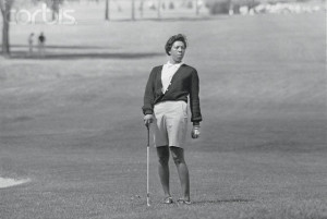 Althea Gibson on Golf Course