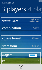 New golf games for Windows phone